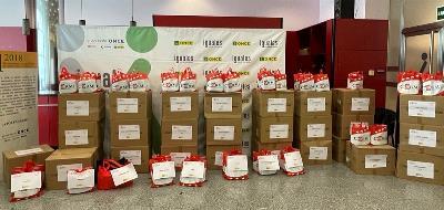 La Delegación del Gobierno distribuye 1,8 millones de mascarillas en colaboración con los municipios, Cáritas, CERMI Comunidad de Madrid, Cruz Roja y EAPN