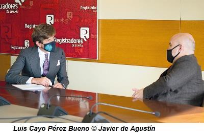 Luis Cayo Pérez Bueno © Javier de Agustín
