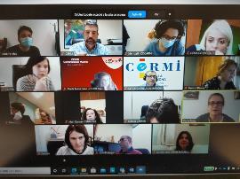 Una imagen de las jornadas formativas para las estructuras gerenciales de los CERMIS Autonómicos