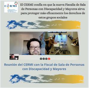 El CERMI confía en que la nueva Fiscalía de Sala de Personas con Discapacidad y Mayores sirva para proteger más eficazmente los derechos de estos grupos sociales