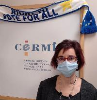 Pilar Villarino, directora Ejecutiva del CERMI, secretaria del Patronato de la Fundación CERMI Mujeres