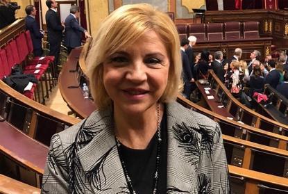 Violante Tomás, portavoz del PP en la Comisión de Políticas Integrales de la Discapacidad