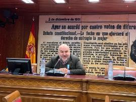 Luis Cayo Pérez Bueno, presidente del CERMI en el Senado
