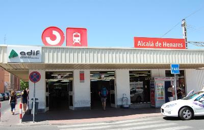 Estación de Alcalá. Foto: Raimundo Pastor