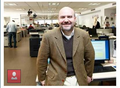 Luis Cayo Pérez Bueno, presidente del CERMI, en el encuentro digital en '20minutos.es'