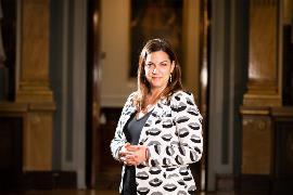 Mayte Fernández, presidenta de la Comisión de Discapacidad del Senado