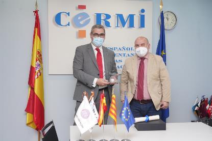 Joan Ramón Riera y Luis Cayo Pérez Bueno.