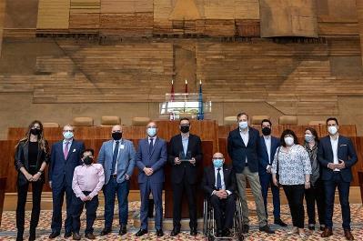 """CERMI Y CERMI Madrid reconocen a Tomas Marcos como """"Amigo de las personas con discapacidad"""""""