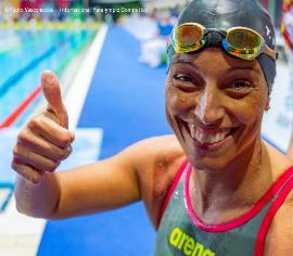 Teresa Perales, premio Princesa de Asturias de los Deportes (Foto: Pedro Vasconcelos. Comité Internacional Paralímpico)