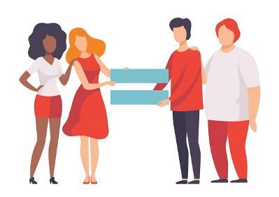 """Imagen de igualdad de la """"Guía para el acceso a la salud y a la atención sanitaria de las mujeres y niñas con discapacidad"""""""