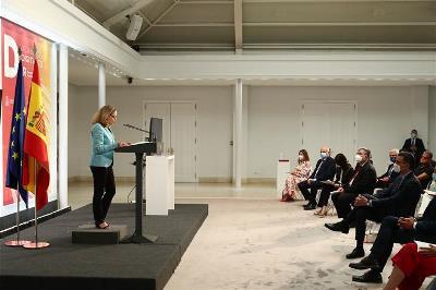 Momento de la presentación por parte del Gobierno de la Carta de Derechos Digitales (Foto: Pool Moncloa/Fernando Calvo)