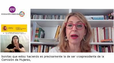 Eugenia Rodríguez Palop, Vicepresidenta de la Comisión de Derechos de la Mujer e Igualdad de Género del Parlamento Europeo