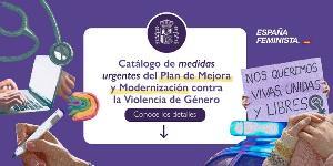 Igualdad presenta al movimiento feminista el catálogo de medidas urgentes del Plan de Mejora y Modernización contra la Violencia de Género
