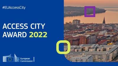 Imagen de la web de la Comisión Europea con información sobre el Premio Ciudad Accesible