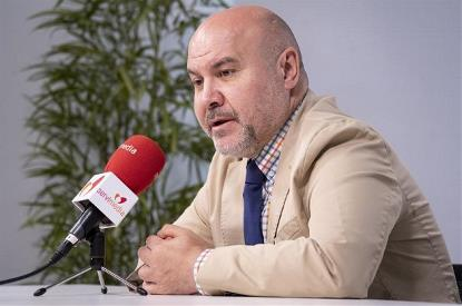 El presidente del CERMI, Luis Cayo Pérez Bueno, pidiendo al gobierno vigilancia y beligerancia contra los delitos de odio por discapacidad