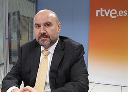 Luis Cayo Pérez Bueno, presidente del CERMI, en el encuentro digital en RTVE