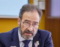Luciano Fernández, presidente de Fedace (Federación Española de Daño Cerebral)