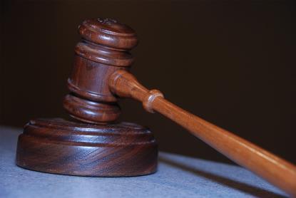 Un mazo, símbolo de la justicia