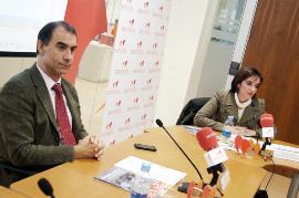 Cesar Antón, director general del IMSERSO y Pilar Villarino, directora ejecutiva del CERMI