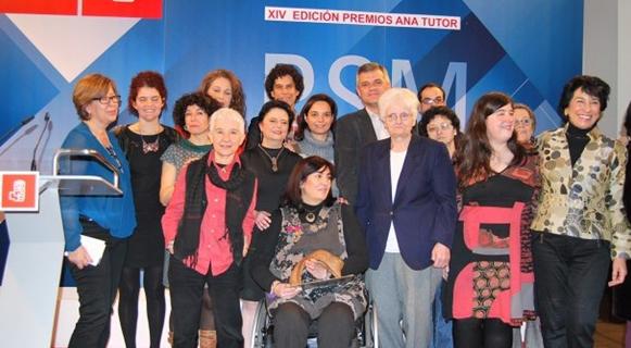 Entrega del Premio Ana Tutor a la Comisión de la Mujer del CERMI Comunidad de Madrid
