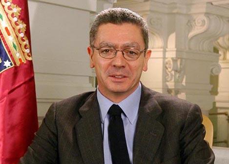 Alberto Ruiz Gallardón, alcalde de Madrid