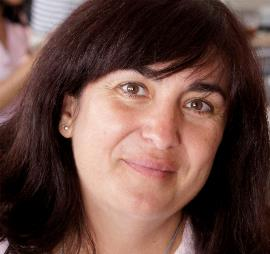 Mayte Gallego, presidenta de la Comisión de la Mujer del CERMI Comunidad de Madrid