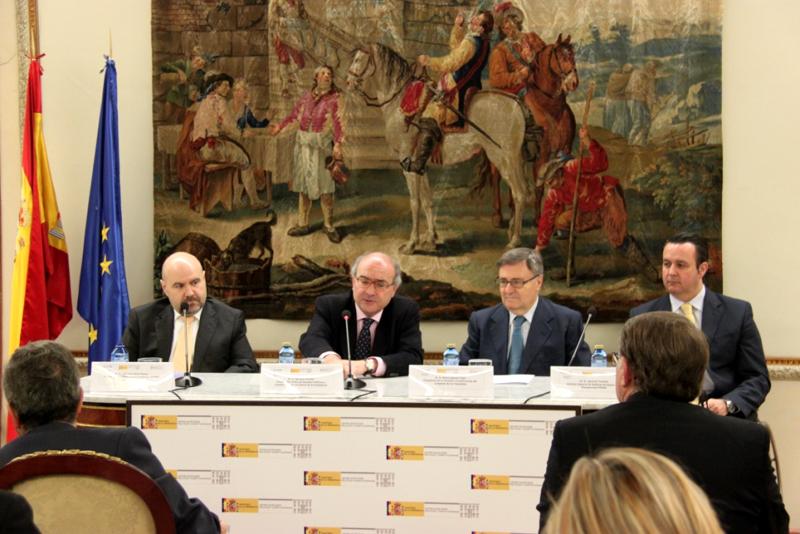 Inauguración de la Jornada 'La Constitución Española de 1978: materiales para una posible reforma'