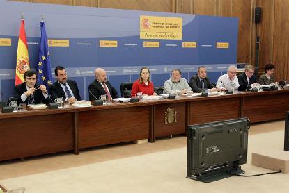 La ministra Ana Pastor en el Comité Ejecutivo del CERMI celebrado en el Ministerio de Fomento