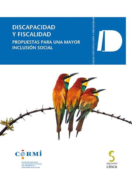 """Portada de la publicación """"Discapacidad y fiscalidad"""""""
