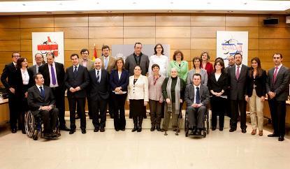 Pleno del Consejo Nacional de la Discapacidad