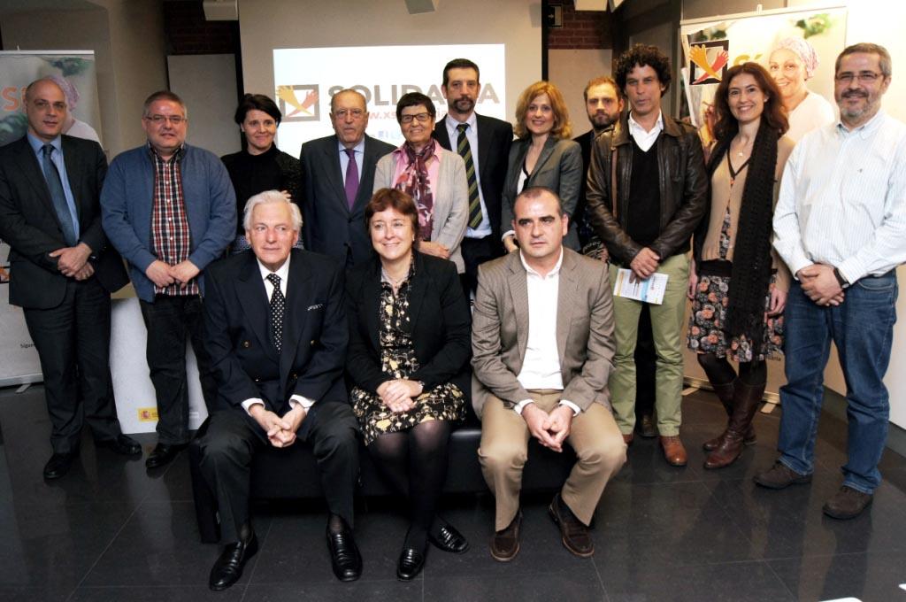 Presentación de la campaña X Solidaria 2013
