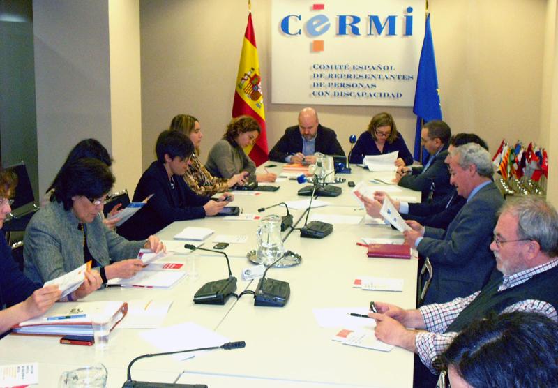 Comité de Apoyo del CERMI para el seguimiento de la Convención de la Discapacidad de Naciones Unidas en España