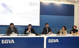 Un momento de la Jornada 'Avanzando hacia organizaciones sostenibles', organizada por FEAPS y celebrada el pasado 10 de enero en Madrid