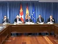 El Secretario de Estado de la Seguridad Social explica al CERMI CyL el Convenio Especial de Seguridad Social