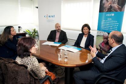 El CERMI y UNICEF España colaborarán para mejorar la situación de la infancia con discapacidad