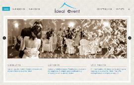 Página web de Ideal Event