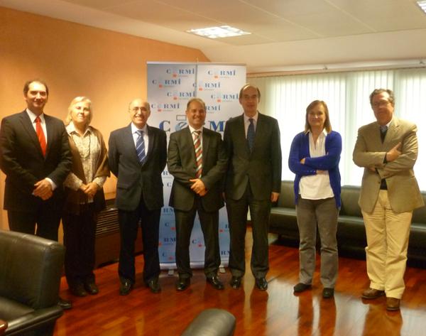 Reunión del CERMI Cantabria con el presidente del Parlamento de Cantabria, José Antonio Cagigas