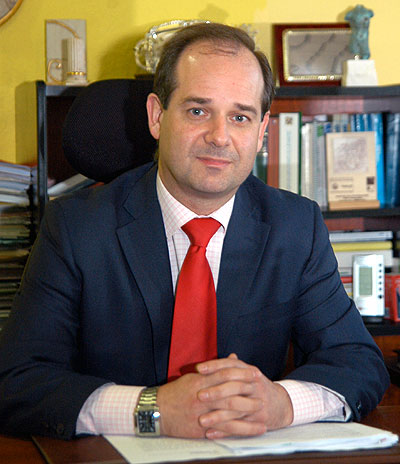 Roberto Álvarez, director gerente de AMPROS