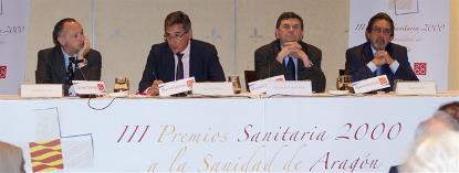 La Mesa por la Discapacidad de Aragón recibe uno de los Premios Sanitaria 2000