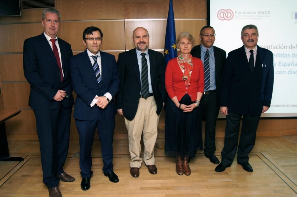 Presentación del estudio sobre el 'Impacto de los planes de austeridad de los Gobiernos Europeos y de España sobre los derechos de las personas con discapacidad'