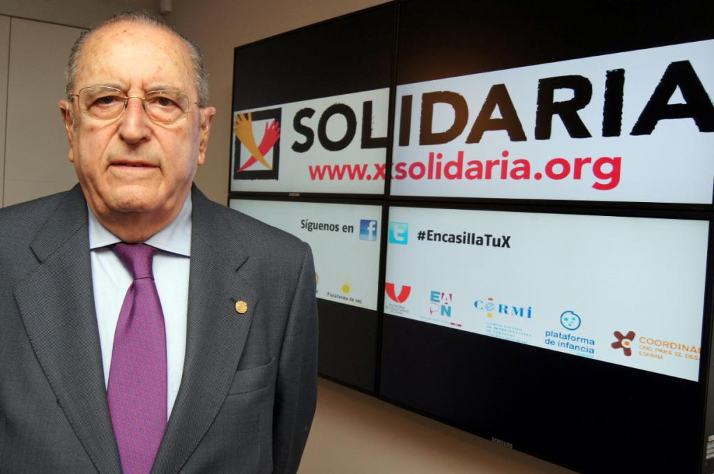 Juan Lara, presidente de la Plataforma de ONG de Acción Social