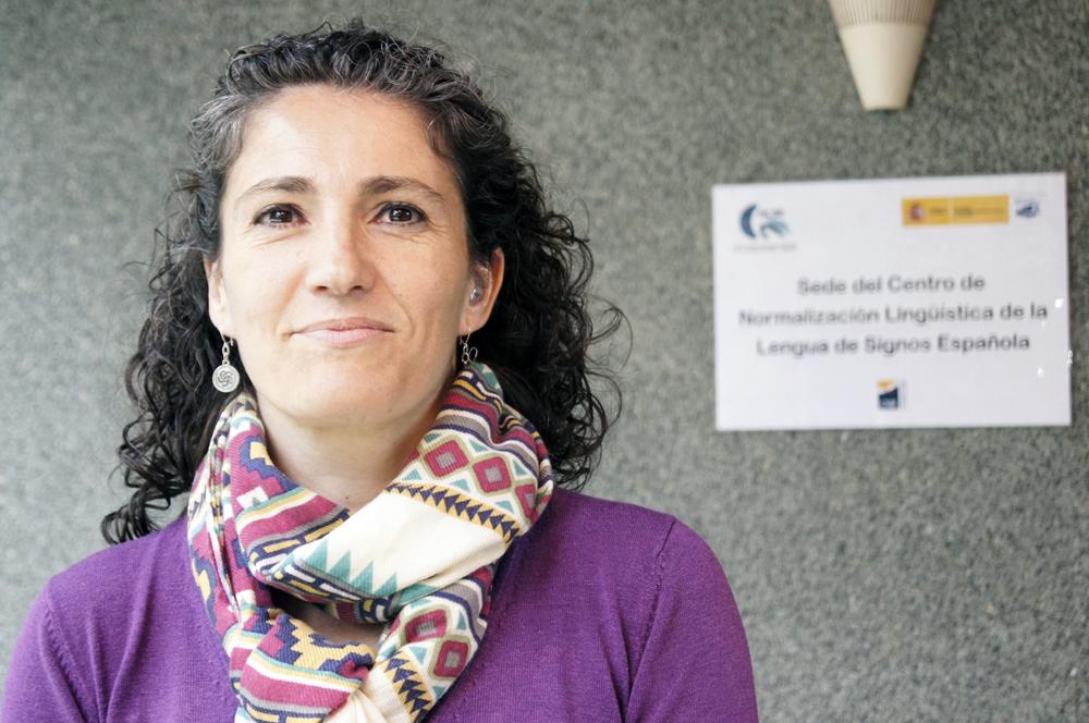 María Luz Esteban, directora del Centro de Normalización Lingüística de la Lengua de Signos Española (CNLSE)