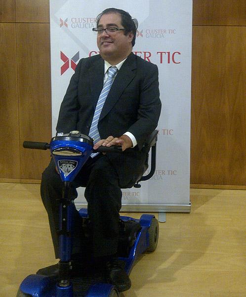 Gerardo Crespo, presidente de ATRADE