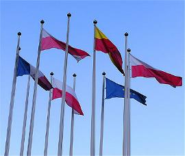 Banderas de países de la UE