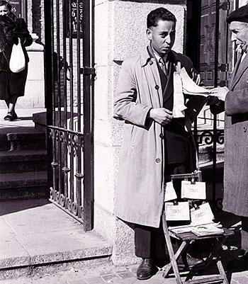 La venta de rifas y sorteos caracterizó el origen de la ONCE