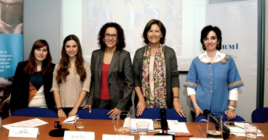 Presentación del informe de UNICEF 'Estado Mundial de la Infancia 2013 (EMI): Niñas y niños con discapacidad'