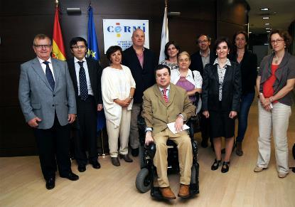 El Comisario de Derechos Humanos del Consejo de Europa se reúne con el CERMI