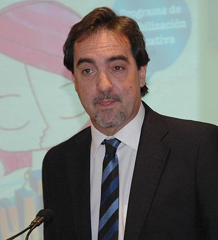 Enric Botí, secretario general del COCARMI