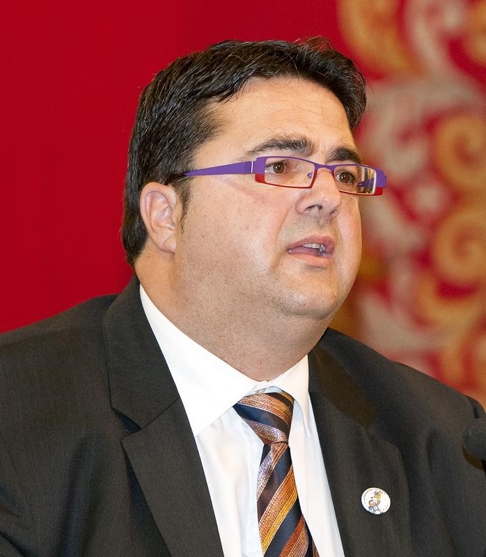 Juan Carrión, presidente de FEDER