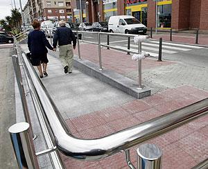 Zona accesible de Los Castros, en Santander